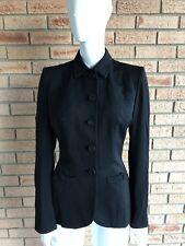 Saks Fifth Avenue Black Blazer Women's Vintage 1950's Blazer