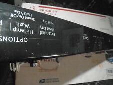 W11162736 Whirlpool Dishwasher Control Panel W10905151