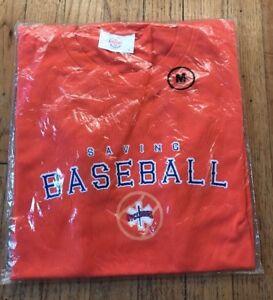 Brooklyn Cyclones SGA Orange Pullover Jersey Night Promo Minor League Size (M)