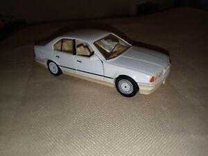 Schabak 1:43 BMW 535i E34 in Very Rare Triple Bright White Part No. #1150 Used