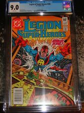 Legion of Super Heroes 285 (DC Comics 3/82) CGC 9.0 WHITE Pages