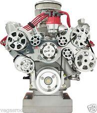 BILLET SPECIALTIES TRU TRAC FORD FE FRONT ENGINE KIT serpentine belt 390 428