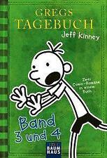Gregs Tagebuch - Band 3 und 4 von Jeff Kinney (Taschenbuch)