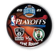 2021 NBA Rond 1 Collecteur Broche Brooklyn Nets Vs Boston Celtics Playoffs