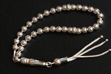 925 Sterling silver Rosary beads Round Beads Tesbih Tasbih