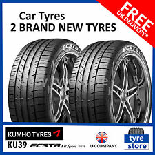 2X New 205 55 16 KUMHO KU39 91V 205/55R16 2055516 *C/B RATED* (2 TYRES)