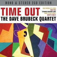 Dave Brubeck Quartet TIME OUT (MONO & STEREO VERSIONS) New Sealed 2 CD