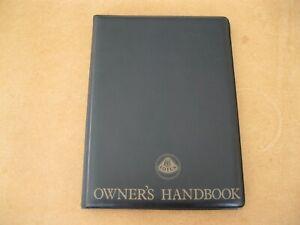 Lotus Esprit S3 1984 MY Domestic/Row Handbook New Obsolete