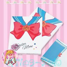 Sailor Moon Notebook Tsukino Usagi Bowtie Pattern Collection Diary Book 4.5*5.6""