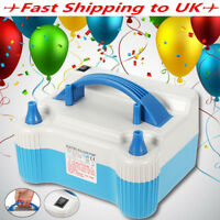 Portable 700W Dual Tip Electric Balloon Pump Inflator Air Blower Wedding Party