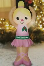 4 ft tall Airblown Inflatable Ballerina Doll  Christmas Yard Decor New in Box