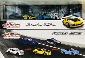 Majorette Porsche Edition 5 Car Box Set
