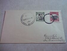 COOK ISLANDS STAMPS On MARINE POST OFFICE RMS MONOWAI COVER To USA Guide Line