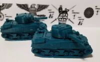 1/72  1:100  1:200 Sherman 75mm  x2 Scale 3d Printed WW II Model Tank