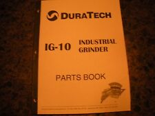 ORIGINAL,HAYBUSTER IG 10 INDUSTRIAL GRINDER ,PARTS BOOK #96