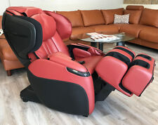 Human Touch Opus 3D Massage Chair Zero Gravity Recliner Heat Foot Rollers RED