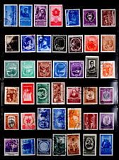 ROMANIA: 1950'S STAMP COLLECTION WITH SETS