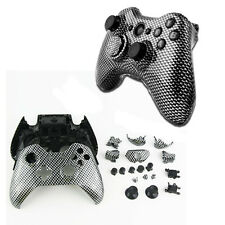Carbon Fibre Full Housing Xbox One Replacement Controller Shell Case+Buttons Kit