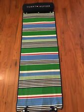 TOMMY HILFIGER Beach Yoga Mat Towel with Roll Pillow