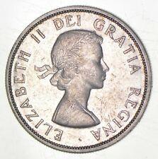 SILVER - WORLD COIN - 1959 Canada 1 Dollar - World Silver Coin *066