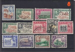 Fiji KGVI Used Collection