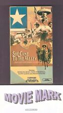 SHE CAME TO THE VALLEY 1979 (Media Home Entertainment) Ronee Blakley vhs & BONUS