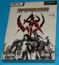 Warhammer Online - Age of Reckoning - PC New Nuovo Sealed