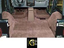 Tappetini Marrone Tappeto Interno Moquette Jeep Wrangler Tj 96-06