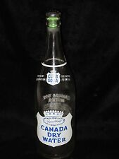 Vintage 28 oz. Canada Dry Water Bottle with Laundry Sprinkler Top
