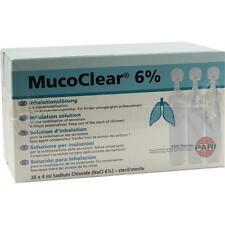 MUCOCLEAR 6% NaCl Inhalationslösung 60X4ml PZN 3352998