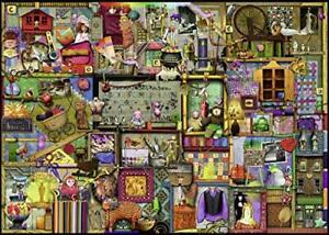 "Ravensburger The Craft Cupboard 1000pcs Softclick Tech Jigsaw Puzzle 27"" x 20"""