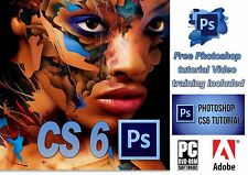 Adobe Photoshop CS6 + Bridge CS6 Photo Software for Windows 32/64bit  !!!!