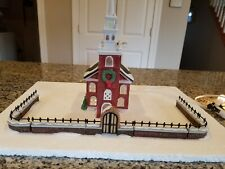 Dept 56 New England Village Old North Church and Church Gate, Fence & Extensions