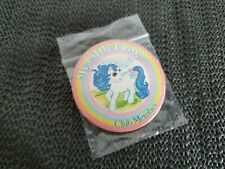 Vintage G1 My Little Pony Club Member Pin Badge Button