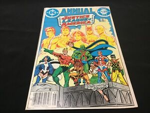 JUSTICE LEAGUE OF AMERICA Annual #2 - 1ST APP VIBE, GYPSY, STEEL 1984 DC COMICS