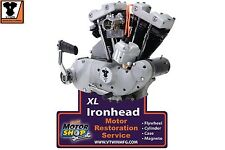 XLCH Engine Plaque Motor Sign 1971 Ironhead Sportster Pressed Steel