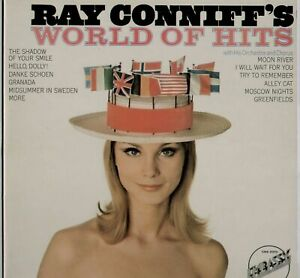 RAY CONNIFF'S WORLD OF HITS  UK 12 TRACK STEREO LP EMBASSY EMB 31073