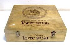 VECCHIA CASSA/CASSETTA IN LEGNO VINI CLASSICI - TORRE SALSA - AGRIGENTO