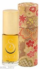 SAGE MACHADO TOPAZ Roll-on Perfume Essential Oil Fragrance 1/8 oz NEW IN BOX