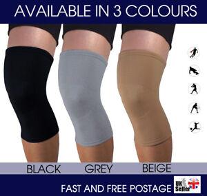 Pair of Elastic Compression Knee Support Sleeve Brace Patella Injury Arthritis
