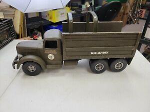 Vintage 1950's Original Smith Miller Army Mack Truck