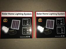 Solar Indoor Lights for Sheds/Garage & Rooms x 2 kits- - free post Aust Stock !