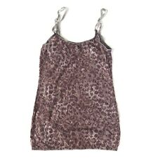 Daytrip Buckle Womens Size Small Purple Sequins Tank Top Cami Spaghetti Strap