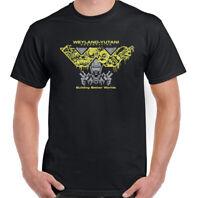 ALIEN T-SHIRT Mens Weyland Yutani Nostromo Movie Covenant Prometheus Unisex TOP