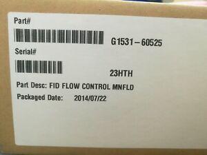 New Agilent FID EPC Flow Control Manifold G1513-60525