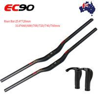 EC90 25.4/31.8*660-760mm Handlebar Riser Bar 20mm MTB Bike Bar Covers 22.2mm