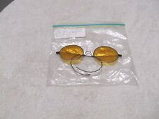 Vintage Orange Tint Sunglasses Circa 1830,s wire frame great shape