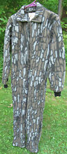 Vtg Union Made Cabelas Camo Camouflage Hunting Fleece Coveralls Mens Size Large