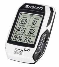 Sigma Bicycle Cycle Bike ROX GPS 11.0 Cycle Computer Complete White