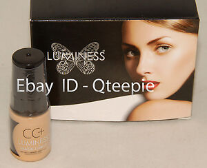 LUMINESS AIR - FLAWLESS & GORGEOUS - Lt BEIGE CC+ Airbrush CONCEALER  .25 oz NEW